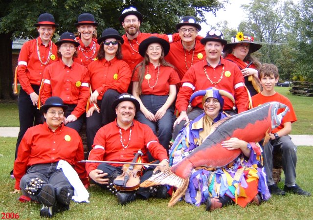 Red Herring Morris at the 2006 Toronto Morris Ale